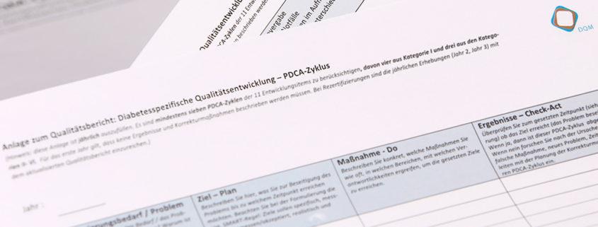Qualitätsentwicklung PDCA-Zyklus